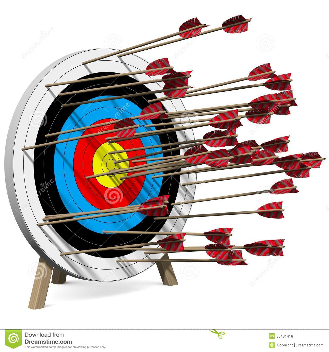Arrow hitting target clipart picture library library Arrow hitting target clipart - ClipartFest picture library library