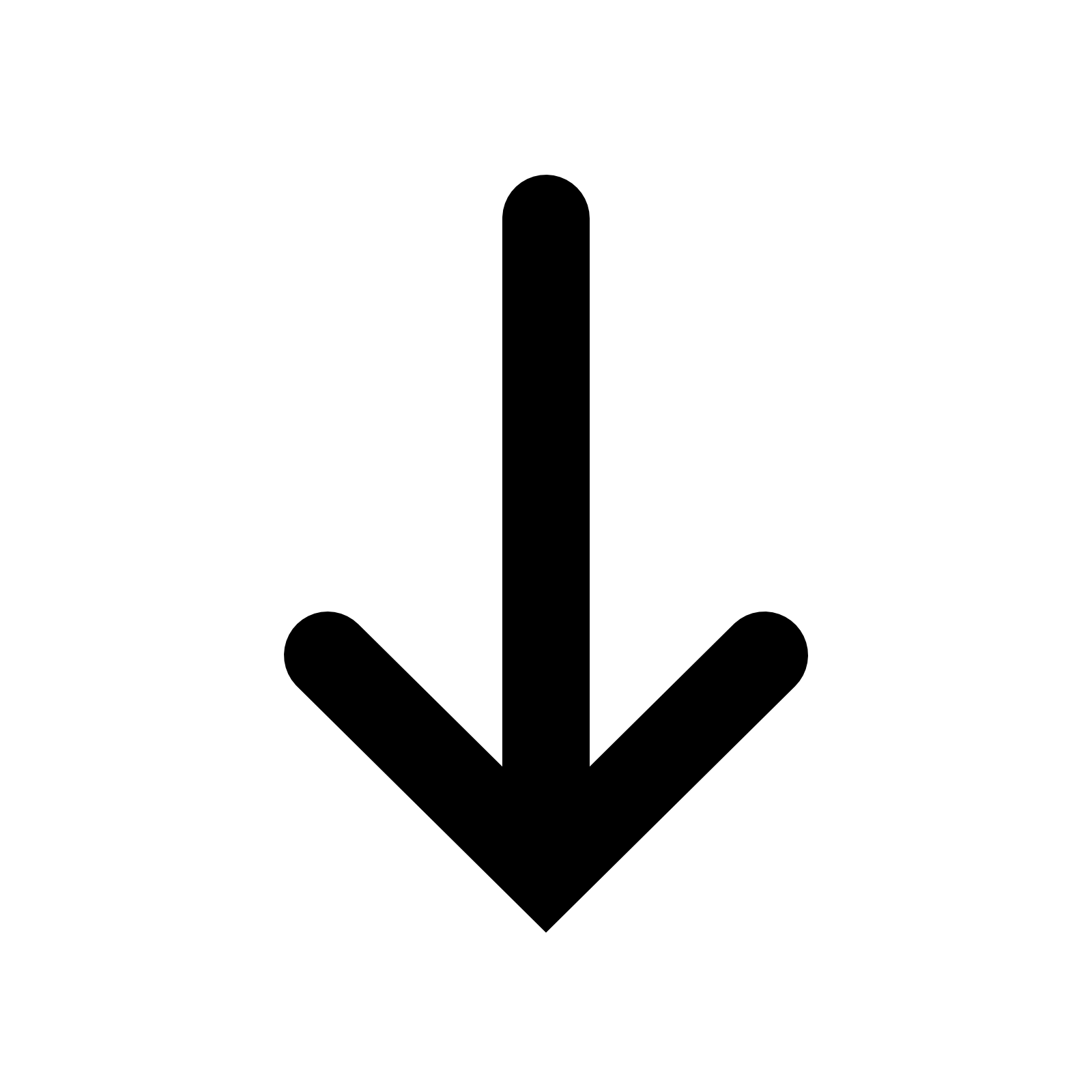 Arrow picture freeuse library Down Arrow transparent PNG - StickPNG freeuse library