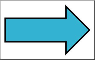 Arrow image clipart color jpg transparent library Clip Art: Arrow 01 Blank Right Color 2 I abcteach.com | abcteach jpg transparent library