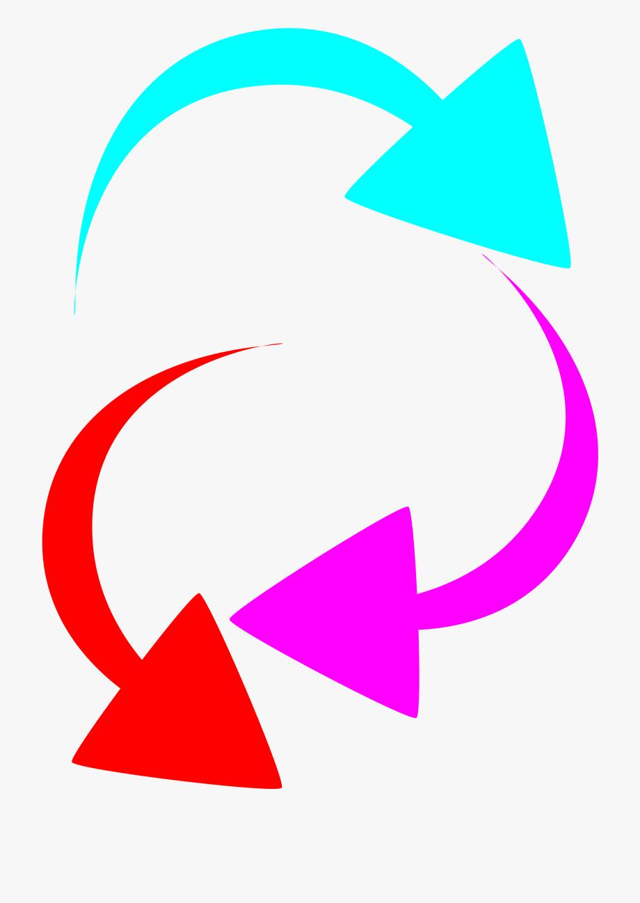 Arrow image clipart color svg stock Curved Arrow Clipart - Arrows Color , Transparent Cartoon, Free ... svg stock