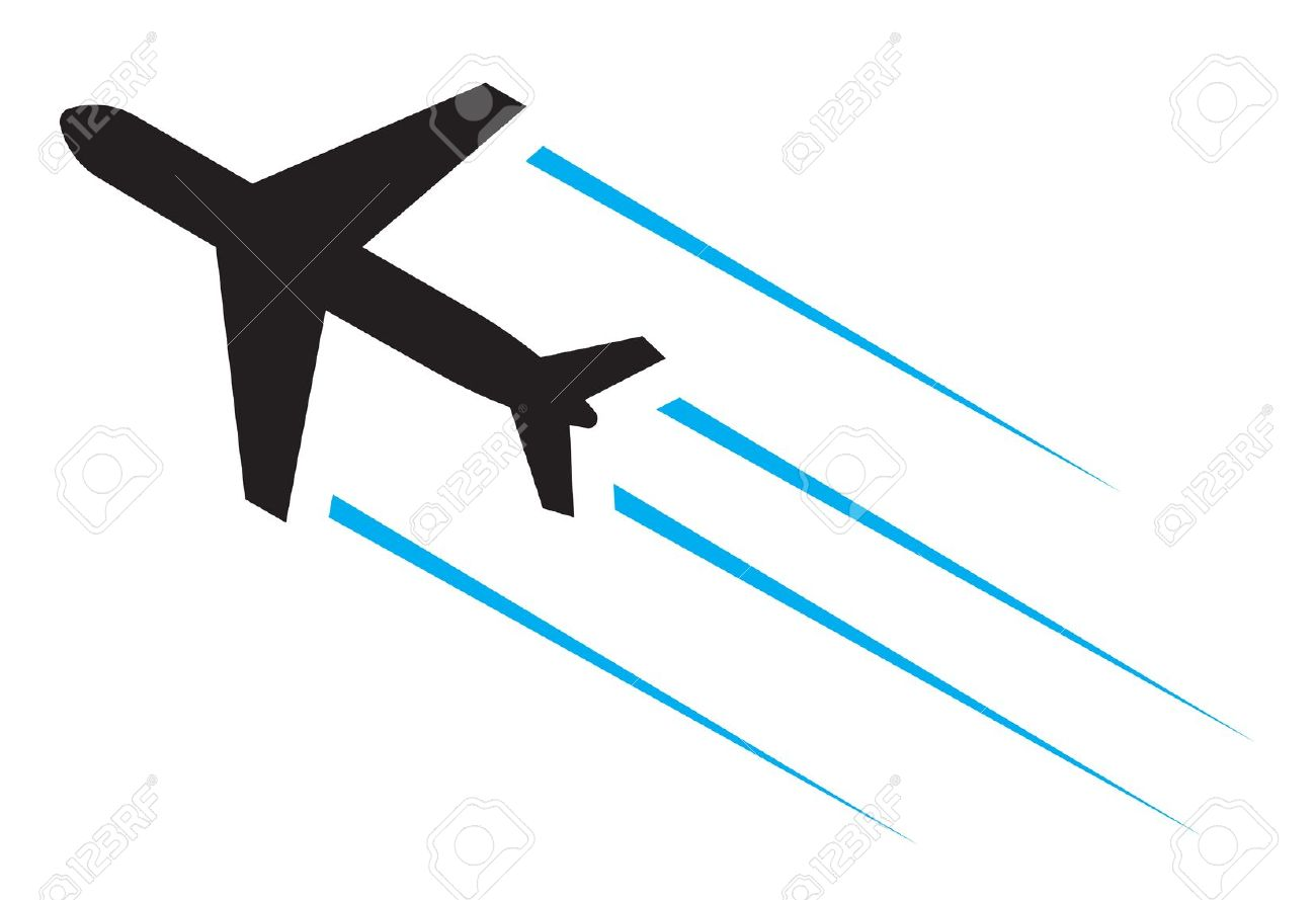 Arrow in flight clipart black and white download Airplane clipart arrow for free download and use images in ... black and white download