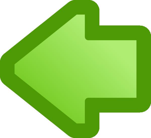 Clipart arrow left clip art freeuse Icon Arrow Left Green clip art Free Vector / 4Vector clip art freeuse