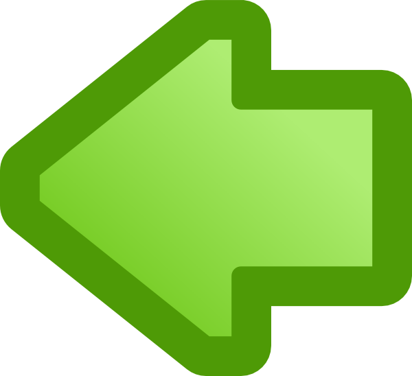 Left arrow clipart image freeuse Icon Arrow Left Green clip art Free Vector / 4Vector image freeuse