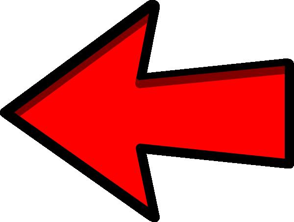 Arrow left clipart clip download Left Red Arrow Clip Art at Clker.com - vector clip art online ... clip download