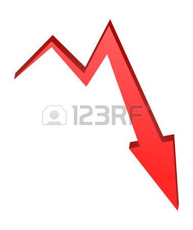 red stock vector. Arrow marks clipart