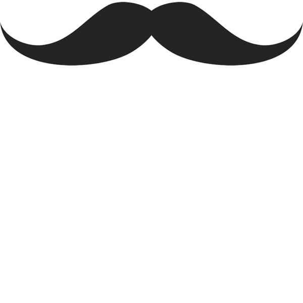 Arrow mustache heart clipart banner black and white stock Moustache Rubber Stamps – Stamptopia banner black and white stock