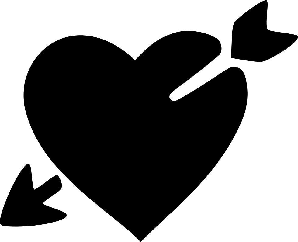 Arrow mustache heart clipart clip art royalty free Love Heart Broken Valentine Day Arrow Cupid Svg Png Icon Free ... clip art royalty free