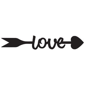 Arrow of love clipart banner transparent download Love Arrow banner transparent download