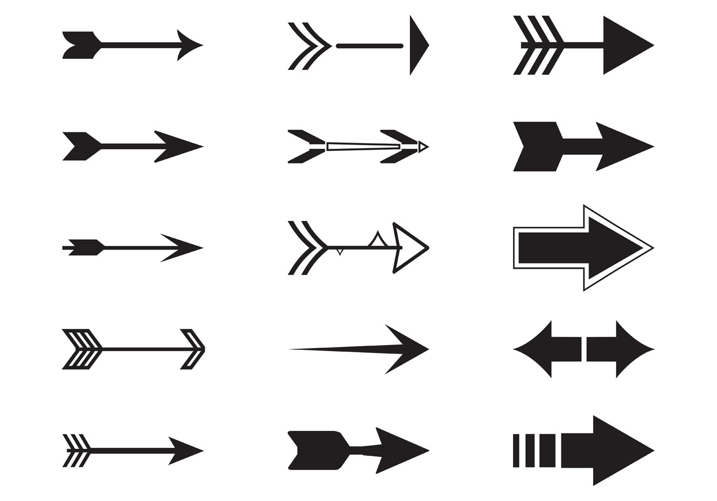 Arrow picture clip art clip freeuse library Arrow Clip Art - (3308 Free Downloads) clip freeuse library