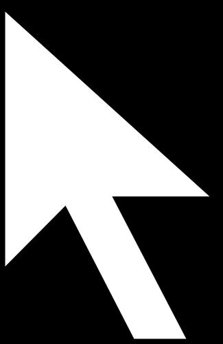 Arrow pointer clipart. Vector image of as