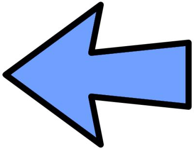 Arrow pointer clipart. Clipartfest left