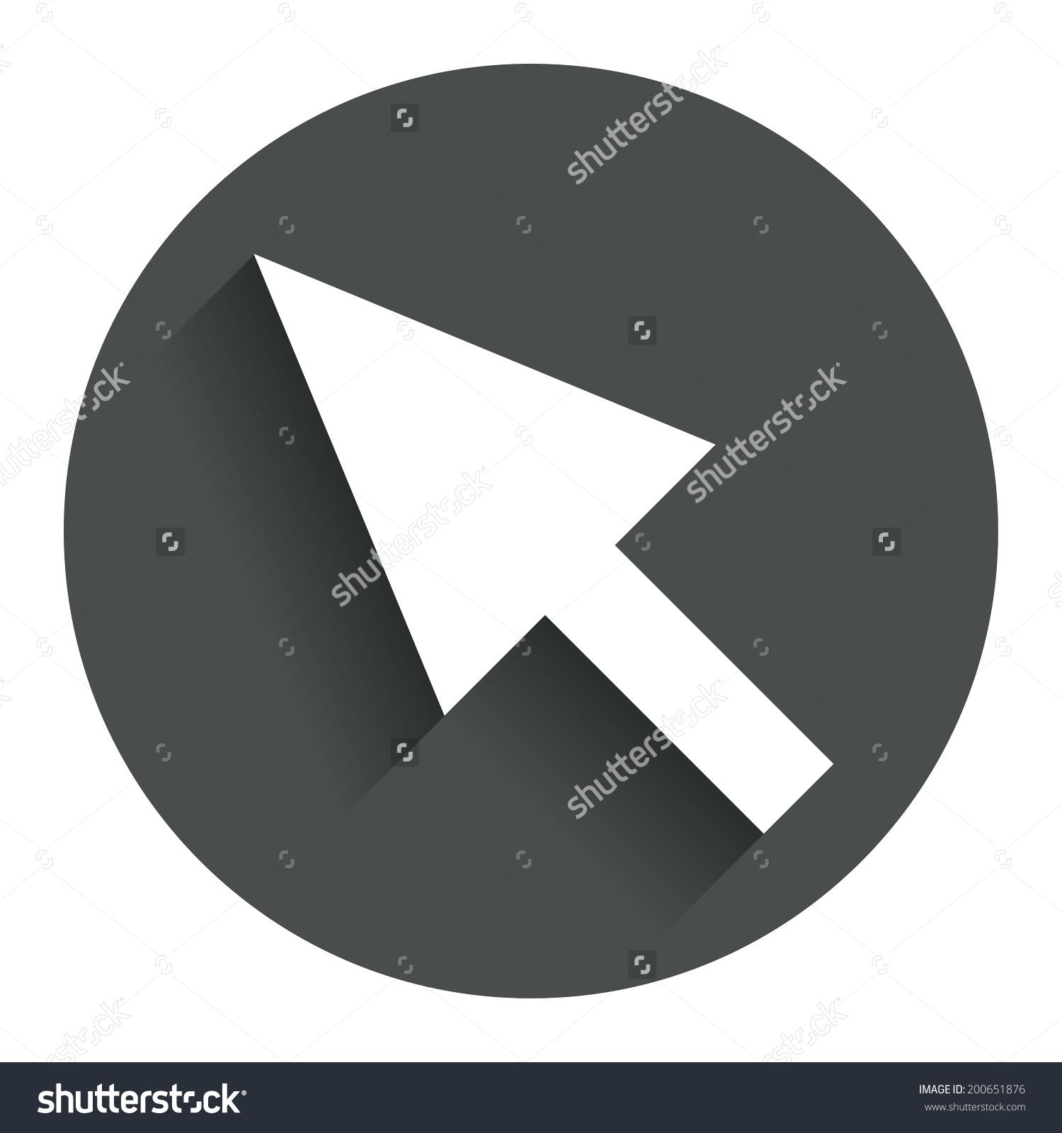 Arrow pointer clipart modern vector royalty free stock Arrow pointer clipart modern - ClipartFest vector royalty free stock