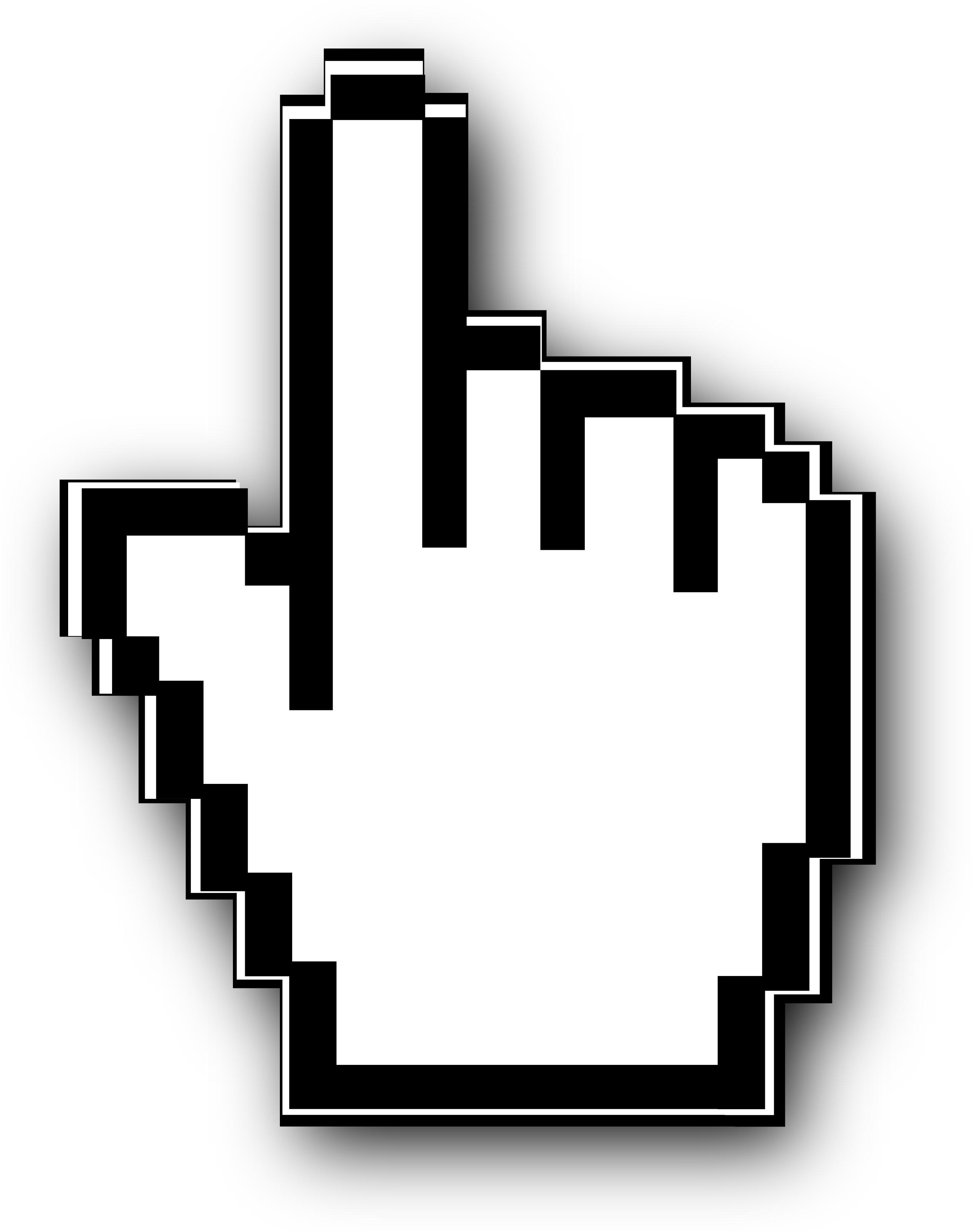 Arrow pointer clipart modern. Clipartfest free cursor hand