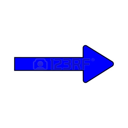 Arrow pointer clipart modern graphic free library Traffic Sign. Direction Symbol Isolated On White Background ... graphic free library