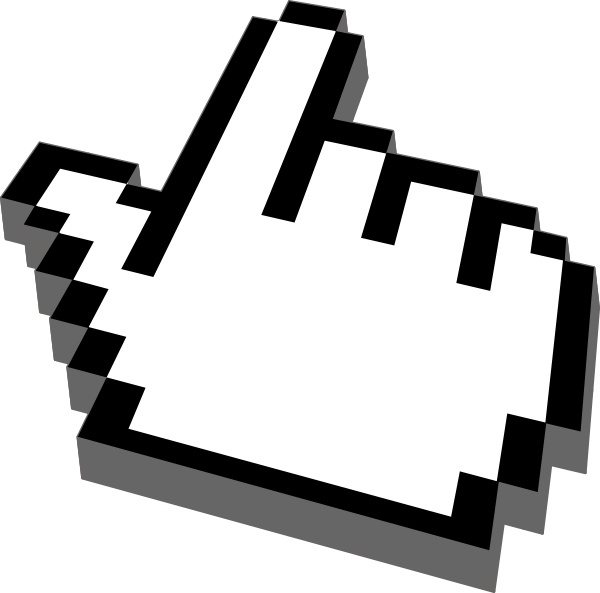 Cursor free vector download. Arrow pointer clipart modern
