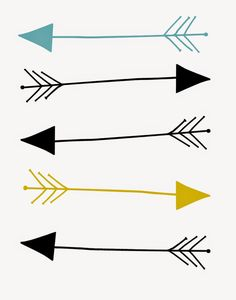 Clipartfest free print. Arrow printables