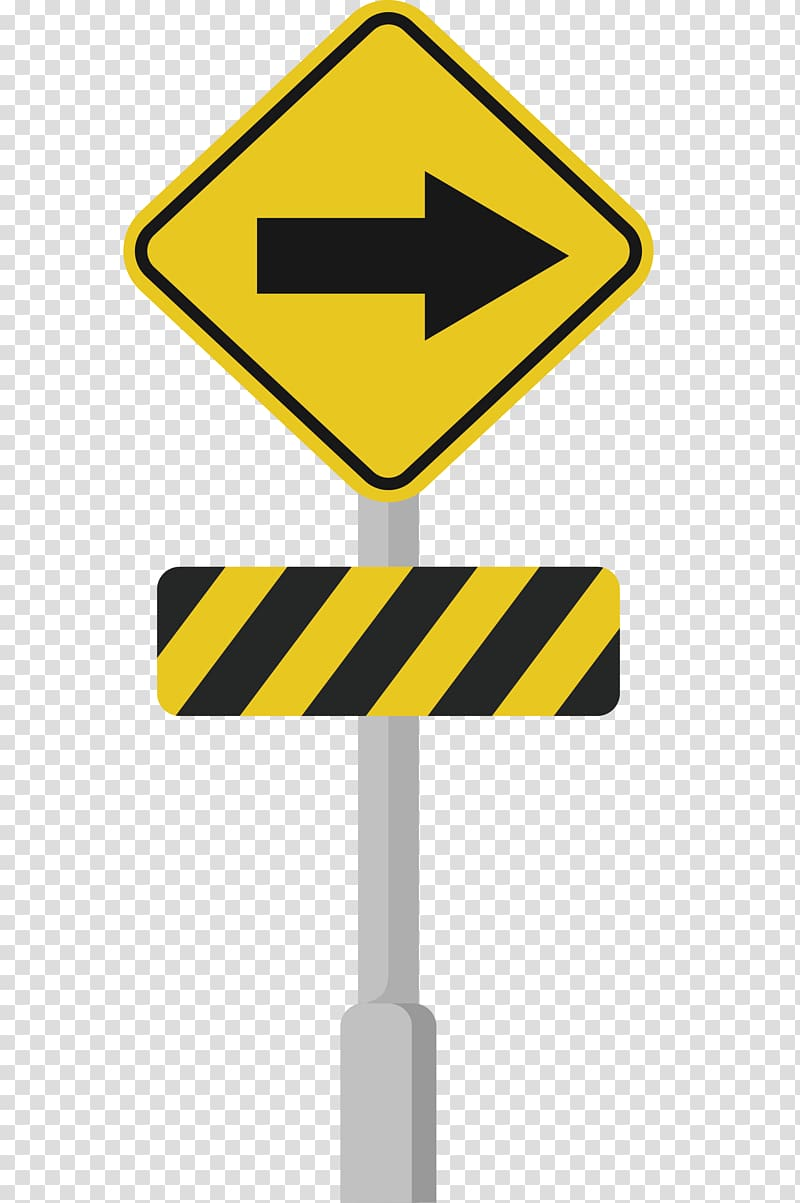 Arrow road stop sign clipart picture transparent library Right arrow signage illustration, Traffic sign , Right road sign ... picture transparent library