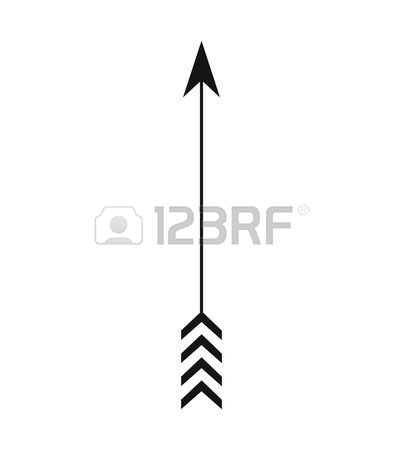 Arrow silhouette clipart vector freeuse Feather Arrow Silhouette Clipart - clipartsgram.com vector freeuse