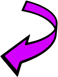 Clip art download attention. Arrow tha is curved clipart