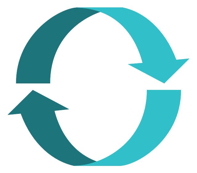 Arrow through circle clipart graphic freeuse stock Arrows - Vector clipart library | HR arrows - Vector stencils ... graphic freeuse stock