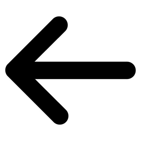 Arrow to the left clipart picture free library Left Arrow Clip Art | Enlarged view of the symbol for the Arrow ... picture free library