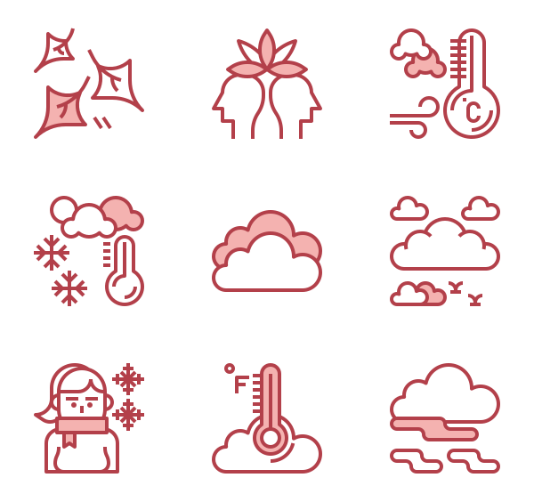 Arrow with cold to hot colors clipart transparent library Cold Icons - 6,553 free vector icons transparent library