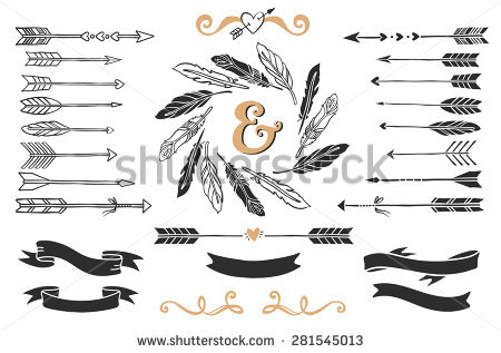 Arrow with feather clipart graphic transparent Arrow Feather Stock Images, Royalty-Free Images & Vectors ... graphic transparent