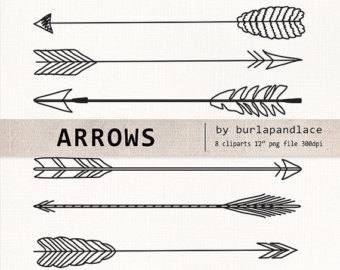 Arrow with feather clipart image black and white Top 25 ideas about images for watercolor on Pinterest | Clip art ... image black and white