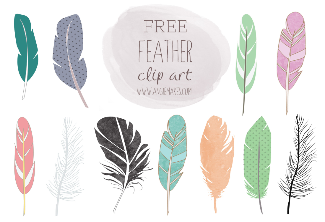Feather of free clipartfest. Arrow with feathers clipart