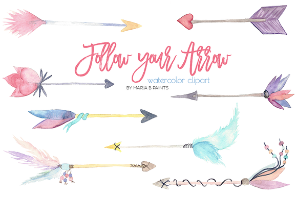 Arrow with feathers clipart. And clipartfest hand