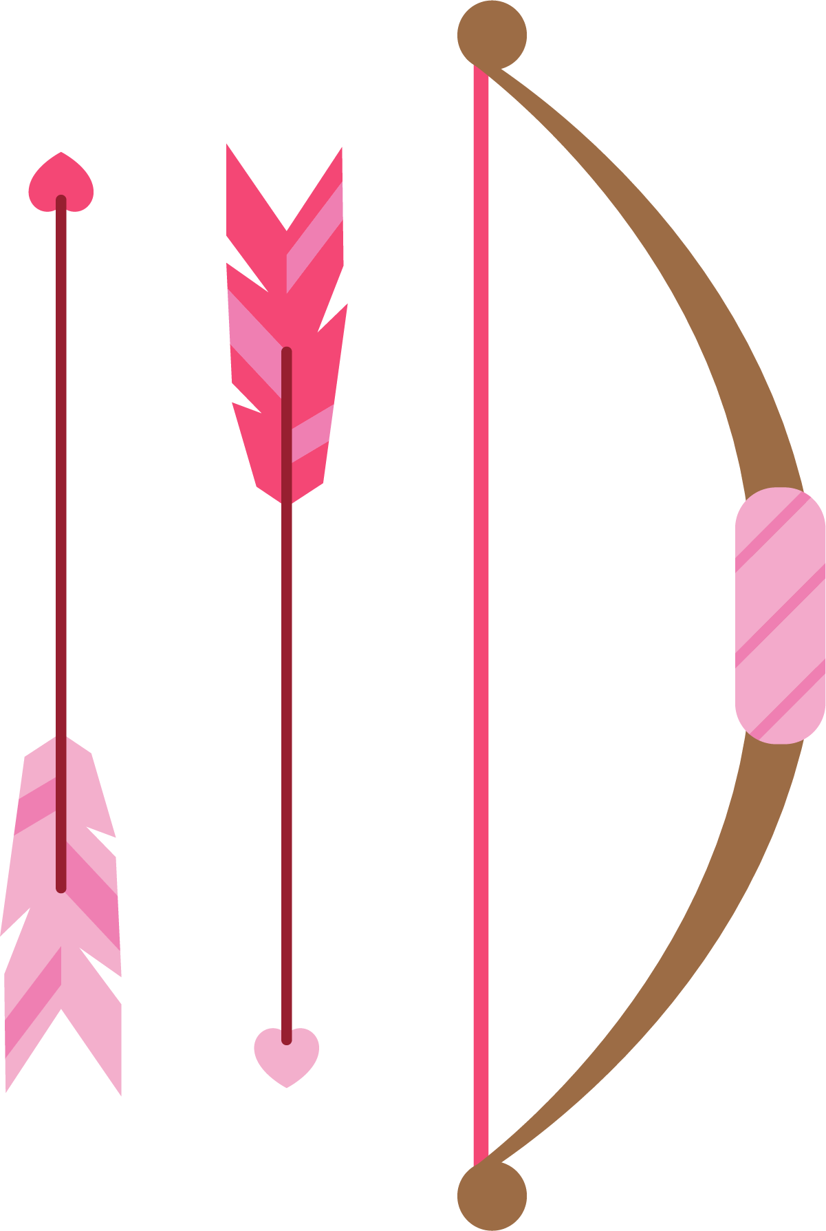 Arrow with three feathers clipart clip art free Arrow Feather Clip art - Hand painted pink feather arrow arrow 1201 ... clip art free