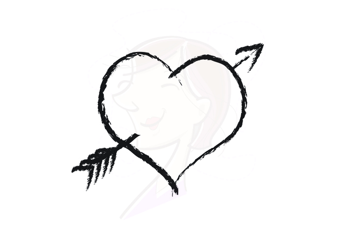 Arrow with heart clipart png stock Collage Free Heart Clipart Borders from www.wonderweirded.com ... png stock