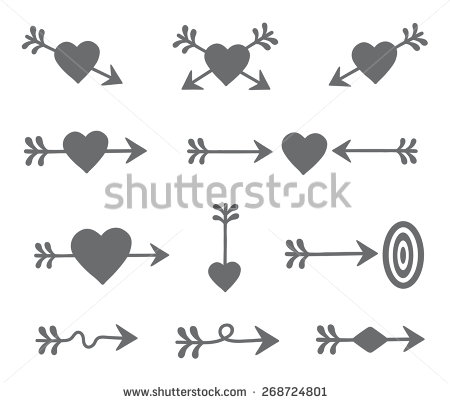 Arrow with heart clipart picture transparent download Heart arrow clip art - ClipartFest picture transparent download