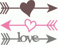 Arrow with heart clipart. And clipartfest arrows