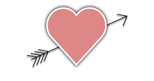 Arrow with heart clipart png image freeuse stock Arrow with heart clipart png - ClipartFest image freeuse stock