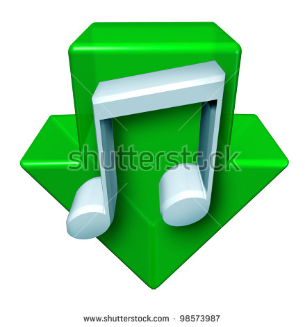 Arrow with music note clipart svg royalty free Music Downloads And Downloading Digital Songs Through The Internet ... svg royalty free