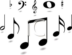 Arrow with music note clipart clipart royalty free Music Notes Clipart Black And White & Music Notes Black And White ... clipart royalty free