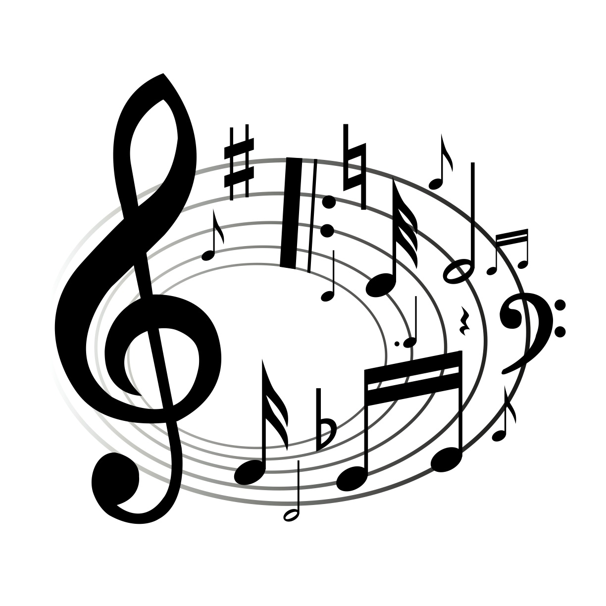 Arrow with music note clipart clip art free library Images music note clipart - ClipartFest clip art free library