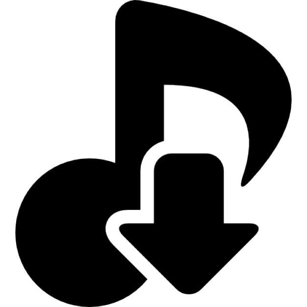 Arrow with music note clipart clip art black and white library Download musical theme symbol of a music note with an arrow ... clip art black and white library