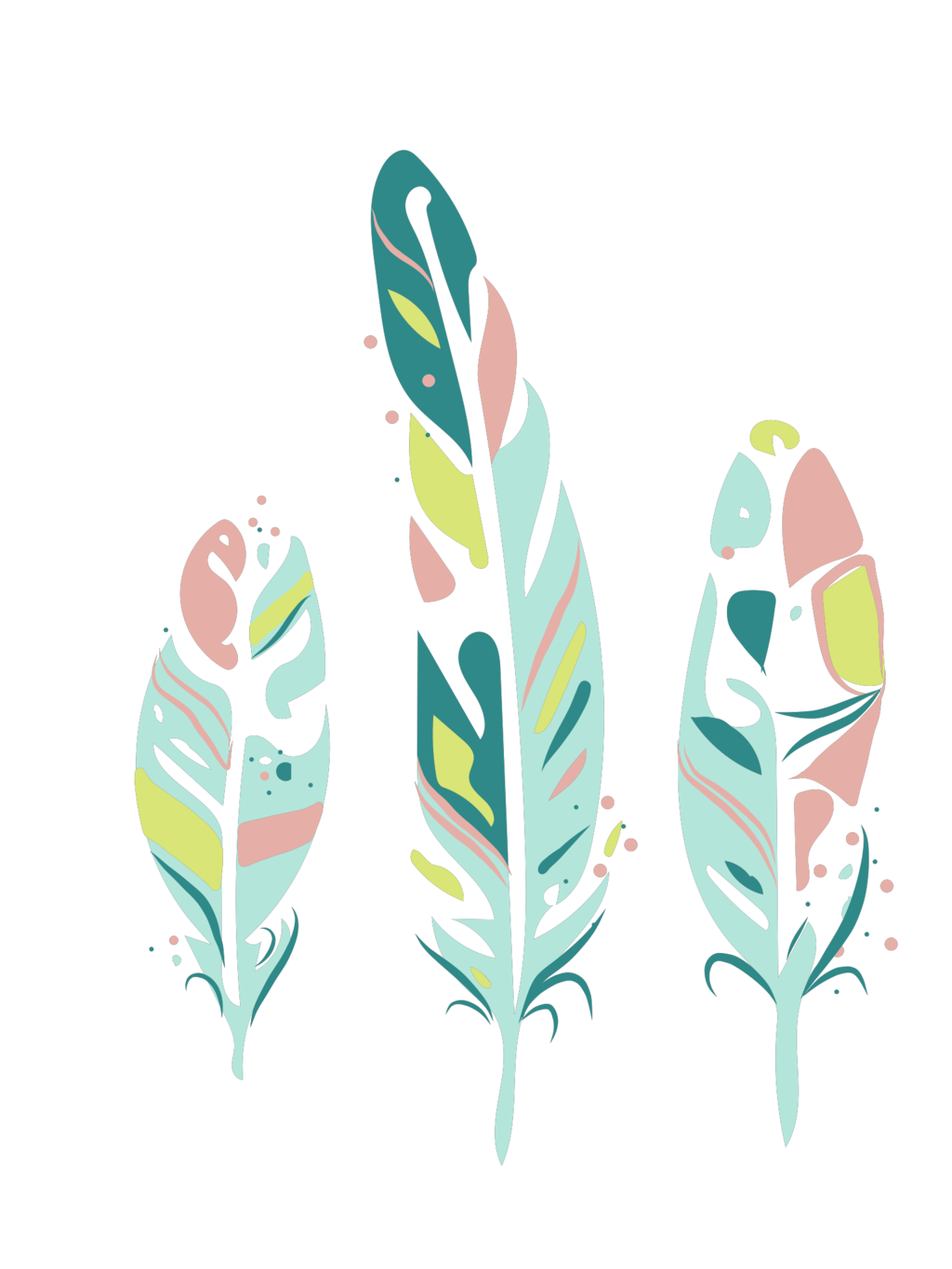 Arrow with three feathers clipart png transparent download Feather Boho-chic Drawing Clip art - boho 1024*1365 transprent Png ... png transparent download