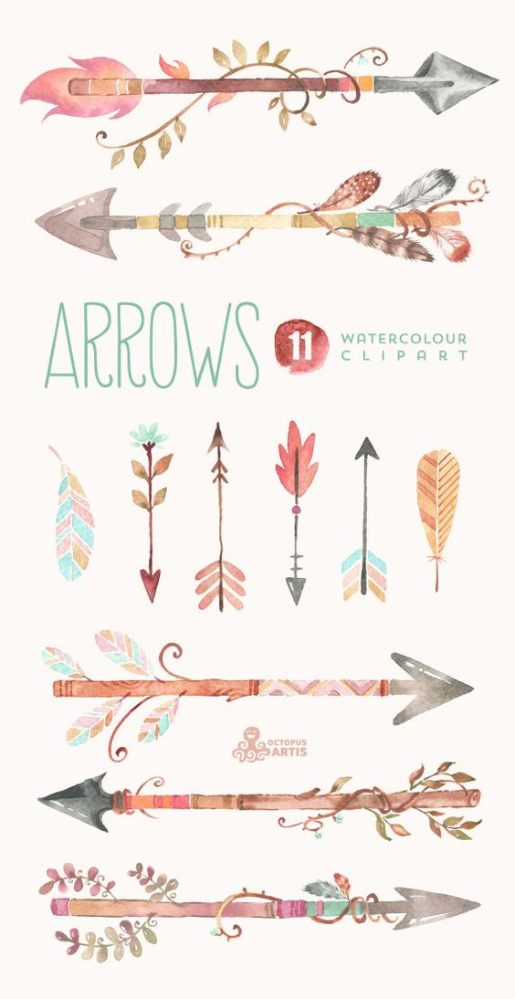 Arrow with three feathers clipart banner free library Arrow with three feathers clipart - ClipartFest banner free library
