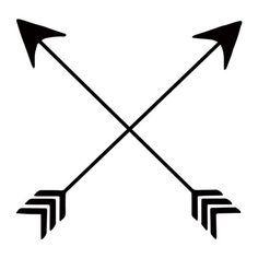 Arrows crossing clipart jpg free download Friendship Arrows | mine | Arrow tattoos, Crossed arrow tattoos ... jpg free download