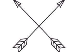 Arrows crossing clipart svg free Arrows crossing clipart 1 » Clipart Portal svg free