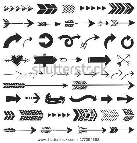 Vector images illustrations and. Arrows graphic