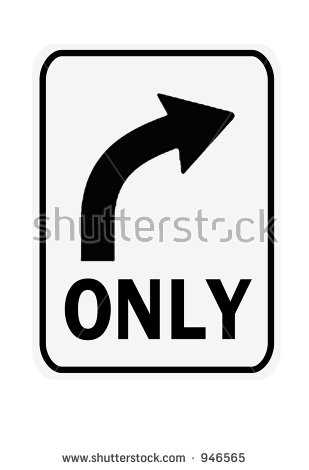 Arrows to show turning clipart vector royalty free stock Right Turn Sign Lizenzfreie Bilder und Vektorgrafiken kaufen ... vector royalty free stock