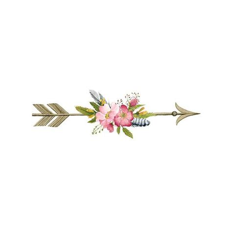 Arrows with flowers clipart jpg library library Flower Arrow - Pillow jpg library library