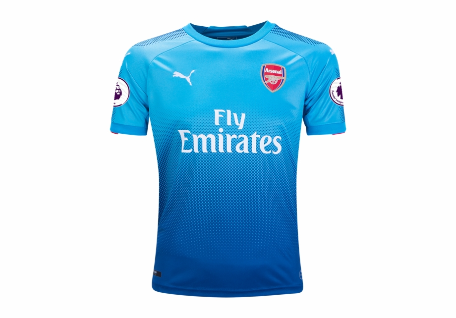 Arsenal clipart kit png stock Arsenal 17/18 Away Youth Kit - Arsenal Blue Jersey 2017 Free PNG ... png stock