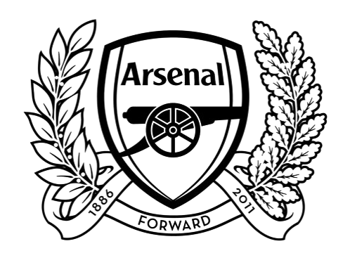 Arsenal logo clipart 512x512 jpg library library Arsenal Black And White Logo Png Images jpg library library