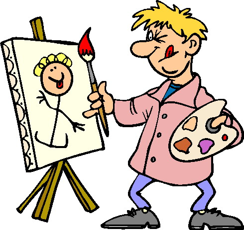 Clipart painters clipart freeuse library Painting clip art | Clipart Panda - Free Clipart Images clipart freeuse library