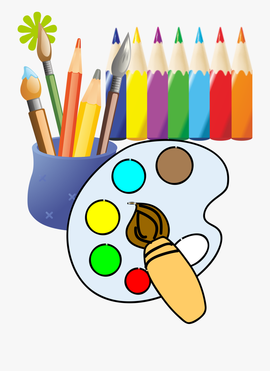 Art and painting clipart graphic stock Download Paint Clipart Painting Decorating And Inspiration ... graphic stock